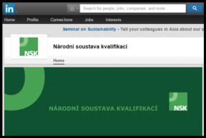 profil NSK na Linked in